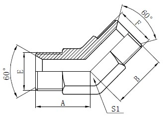 การวาดภาพข้อต่อท่ออุตสาหกรรม